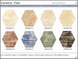 Material de construcción rústico de cerámica del azulejo del hexágono puro del color (VR2N2308H, 200X230m m)