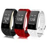 Slimme Armband van de Monitor van het Tarief van het Hart van het Horloge van de Drijver van de Fitness van sporten de Slimme S2 voor Androïde/Ios