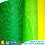 Polypropylene100% de Spunbond Tela no tejida