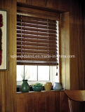 cortinas da madeira de Tpae da escada do Basswood de 50mm Horizental (SGD-W-508)