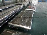 PPGI 색깔에 의하여 입히는 직류 전기를 통한 물결 모양 강철 루핑 장