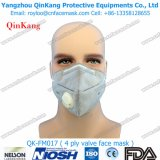 Máscara plana de la contaminación del doblez vertical disponible para la calina Pm2.5