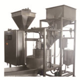 Ligne de traitement en pâte d'arachide revêtue avec machine de revêtement