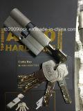 La alta seguridad Anti-Rompe la línea doble cilindro de la dimensión de una variable de la serpiente de los contactos