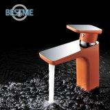 Faucet de bronze da bacia da cor alaranjada popular (BM-B10030F)