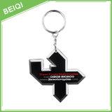 Kundenspezifischer weicher Gummi Keychain Belüftung-Keychain/3D