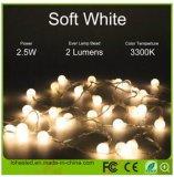 indicatore luminoso caldo della stringa del USB LED di bianco di 5m