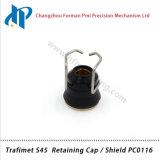 Набор потребляемых веществ газового резака плазмы Trafimet S45 сохраняя крышку/экран PC0116
