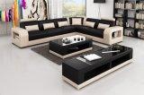 Móveis para casa U Shape Leather Corner Sofa