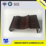 ドアのアルミニウムドアaのための木製カラーアルミニウムプロフィール