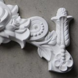 폴리우레탄 꽃 벽 장식 Onlays 또는 아플리케 PU 장신구 Hn S017