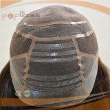 Peluca médica sin tocar llena del cordón del frente de la alopecia del pelo humano de la base del cordón del mejor diseño