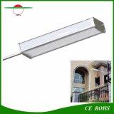 Empfindlicher Solarradar-Fühler-Garten beleuchtet 48LED im Freien Solarlampen-hohe Helligkeits-flexibles Straßenlaterneder Aluminiumlegierung-IP65