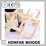 Il partito della mobilia della barra fornisce la cremagliera di legno del vino