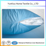 Cubierta superior de la almohadilla que hace punto en color azul