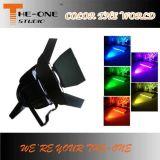 DMX RGB Full Color COB LED PAR Pode Iluminação PRO