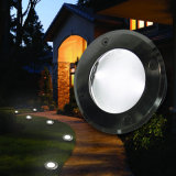 IP68 lampe légère souterraine solaire de piscine du jardin inoxidable DEL