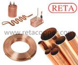 Pfannkuchen-kupfernes Rohr für R410 ein Standard