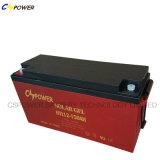 Batería profunda 12V150ah del gel del panel solar del ciclo para la batería de almacenaje de la potencia de la Sistema Solar