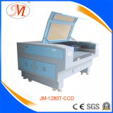 Hohe Definition, die Laser-Scherblock für Cup-Matte (JM-1280T-CCD, in Position bringt)