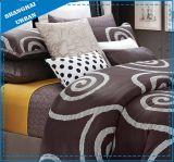 日本人デザインは綿の羽毛布団カバー寝具を印刷した