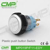 CMP 19mmのプラスチック瞬時の押しボタンスイッチ