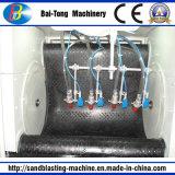 Machine van het Zandstralen van het Type van RubberRiem van Tumblast de Auto