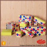 Коробки подарка вычуры высокой ранга роскошные с конструкцией многоточий