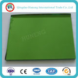 ISO 증명서를 가진 4mm 진한 녹색 사려깊은 유리