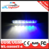 Ultra Thin 6 W LED de montaje en superficie Light Bar