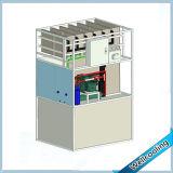 máquina de fatura de gelo comercial do cubo da capacidade 130L