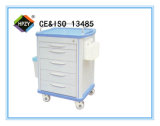 (B-68) Chariot à la distribution de médecine d'ABS