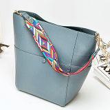 2017년 Leather OEM 형식 숙녀 끈달린 가방 여자 손 부대는 다채로운 결박 Emg5010를 가진 부대 핸드백에 상표를 붙인다