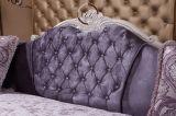 L moderna europea sofà sezionale dell'angolo del tessuto di figura