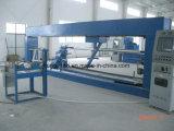 Pequeño tubo de la fibra de vidrio o tanque o cilindro que hace la máquina