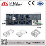 Vier Station Thermoforming Maschine für Wegwerfplastiknahrungsmittelbehälter