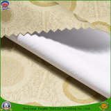 Matéria têxtil Home poliéster tecido que reveste a flama impermeável - tela retardadora da cortina do escurecimento