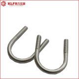 Schraube des legierten Stahl-U mit 2 Muttern