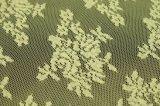 Nuovo merletto del prodotto chimico del jacquard lavorato a maglia di disegno modo