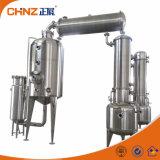 Tanks van de Concentratie van de Hulp van de Druk van het Type van Bal van de Rang van het voedsel de Vacuüm met Mengapparaat