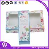 Scatola di presentazione cosmetica di carta variopinta di Cmyk di stampa su ordinazione