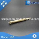 Auto peças de torneamento de usinagem CNC inoxidável / latão