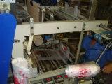 De Rolling Zak die van de Zak van de T-shirt van de hoge snelheid Machine met Dubbele Lijnen maken