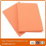 極度の柔らかいオレンジNonwovenファブリック清拭布