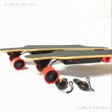 Самый новый и популярный электрический скейтборд с цветами по-разному колес