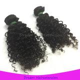 Волос девственницы путать свободно линяя курчавое свободно монгольское Kinky