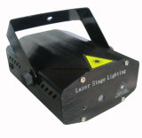 Mini láser luces del disco 6 en 1 Luces de la etapa de control remoto efecto de luz de Navidad
