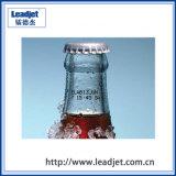 Impresora de la inyección de tinta de la fecha de la botella de la bebida