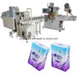 Máquina de la prensa del tejido del pañuelo para el empaquetado de papel disponible