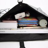 은 PU 마름모꼴 기하학적인 남녀 공통 핸드백 (M005)
